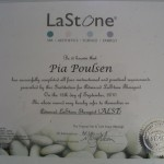 Advanced LaStone Therapist diploma